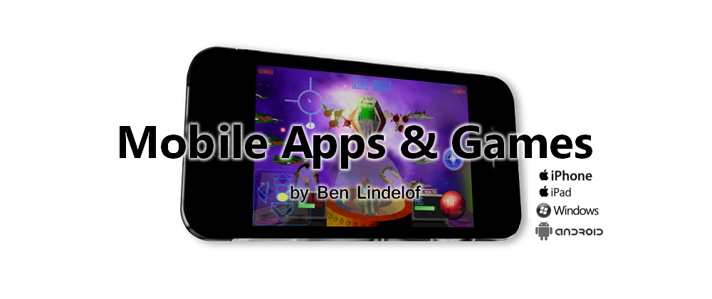 MOBILE APPS & GAMES by Ben Lindelof